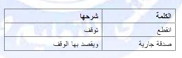 تحضير درس العلوم الاسلامية مشروعية الوقف للسنة الثالثة ثانوي do.php?imgf=13813946