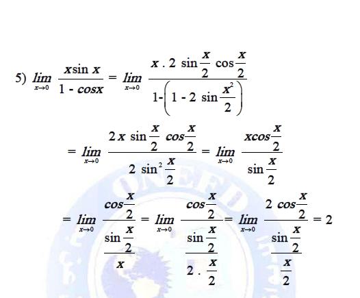 تمارين في دروس النهايات و الاستمرار مع الحلول do.php?img=9564