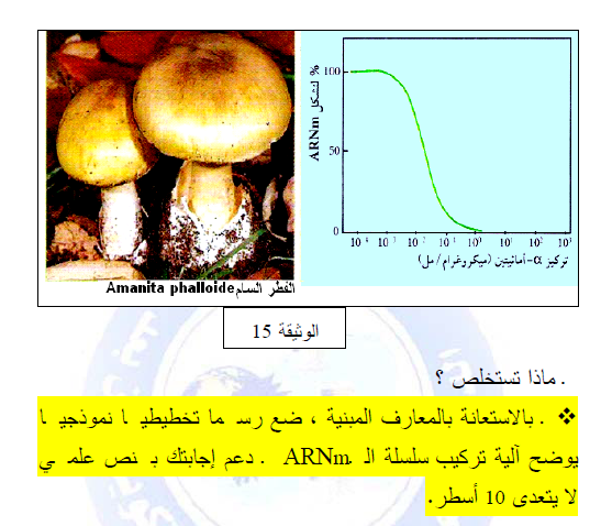درس تركيب البروتين في مادة العلوم الطبيعية والحياة للسنة الثالثة ثانوي do.php?img=10216